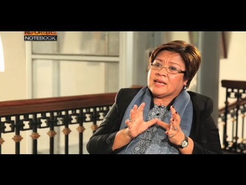 One-on-one interview with DOJ Sec. Leila De Lima