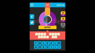 Icon Pop Song 2 Level 2 Cheats #12-35 Answers