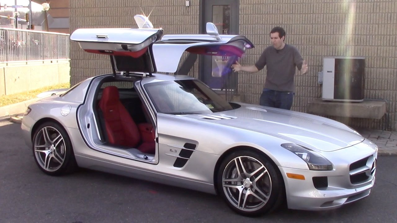 here 39 s why the mercedes sls amg is worth 185 000 youtube. Black Bedroom Furniture Sets. Home Design Ideas