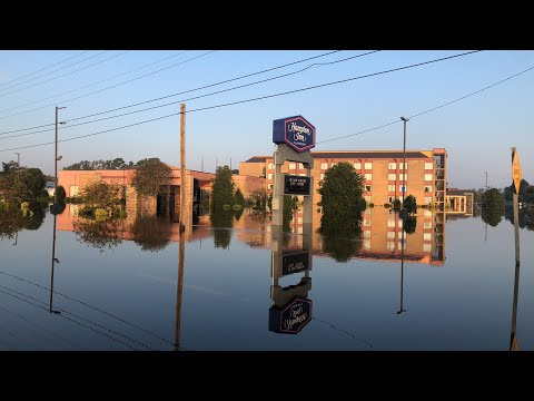 — Flooding in Kinston, NC — Hurricane Florence Aftermath