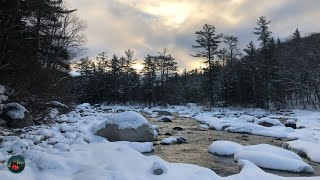 Winter Camping In Tнe White Mountain National Forest - New Hampshire. Part 1: Camp Setup And Hike