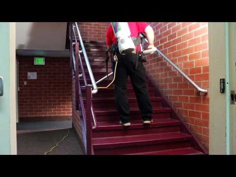 How To Video - Chico State Cleaning - How To Clean a Stairwell and Laundry