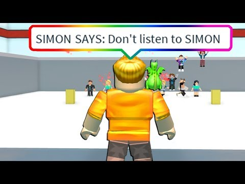 IMPOSSIBLE ROBLOX SIMON SAYS