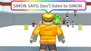 IMPOSSIBLE ROBLOX SIMON SAYS