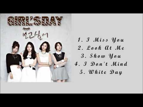 GIRL'S DAY - I MISS YOU 보고싶어 EP FULL ALBUM