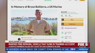 Marines React To Discovery Of Sunken Amphibious Tank