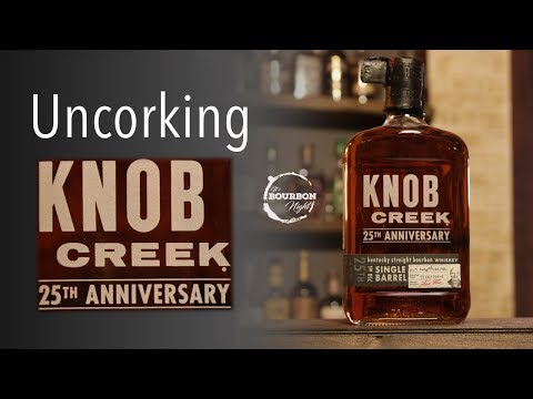 Uncorking Knob Creek 25th Anniversary - It's Bourbon Night