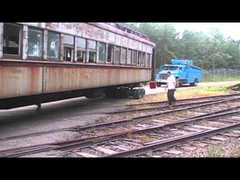 Atlantic Structure Movers: 1922 Rail Car Move