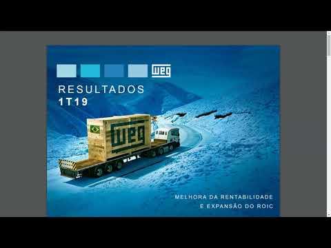 WEGE3 | TOP De Máquinas e Equipamentos | 1T19