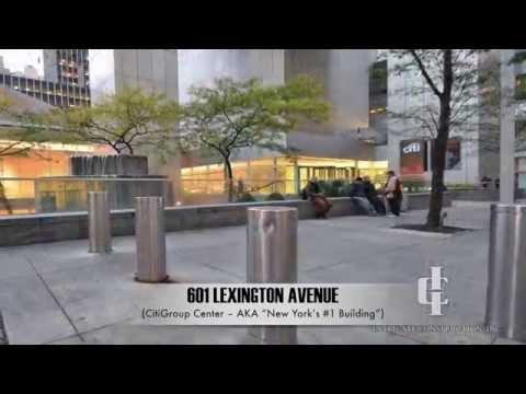 Intricate Construction - Citigroup Center - 601 Lexington Ave NYC