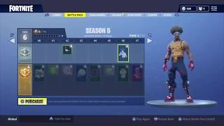 All Fortnite dances (Season 5 battle Pass)