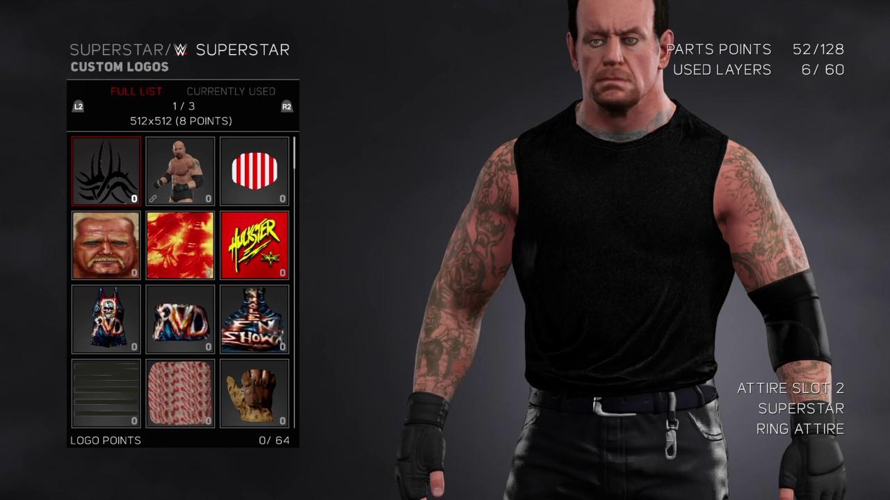 WWE 2K17 Undertaker wwe Raw 2002 DEADMAN INC Attire - YouTube