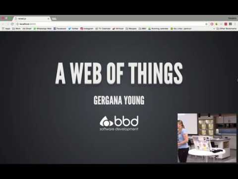 A Web of Things - Gery Young