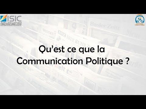 ISIC CPP - C'est Quoi La Communication Politique?