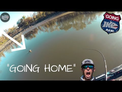 GOING IKE RAW: Going Home! Tidal Delaware River FISHING!