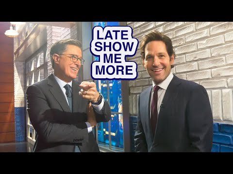 LATE SHOW ME MORE: Pie In The Sky!
