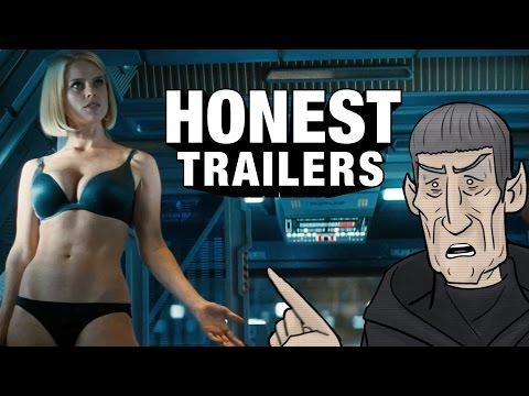 Honest Trailers - Star Trek Into Darkness (Feat. HISHE)