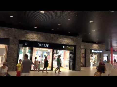 (4k) Siam Mall Shopping Center, Tenerife (Sony FDR-AX100)
