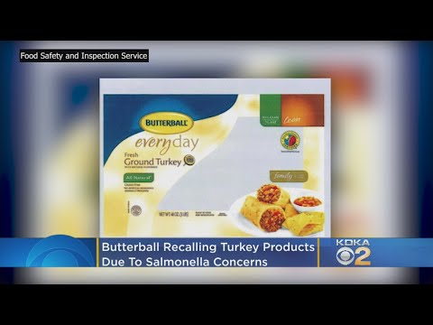 Shelley Wade - Butterball Recalling Turkey Products Due To Salmonella Concerns