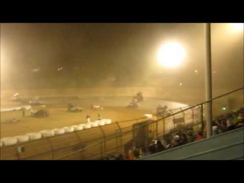 Sprintcars @ Placerville Speedway  6 11 16 part 2