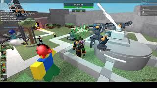 Triumph- Cyber Quarters Quad Op (de la vague 25) ROBLOX Tower Battles