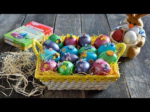 Oua vopsite pentru Pasti   JamilaCuisine