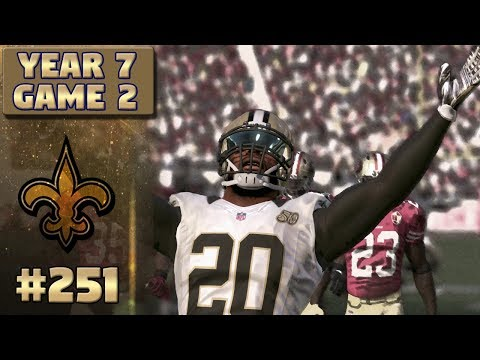 Old vs New | Saints @ 49ers (S7,G2) | Madden NFL 17 New Orleans Saints Franchise Ep. 251