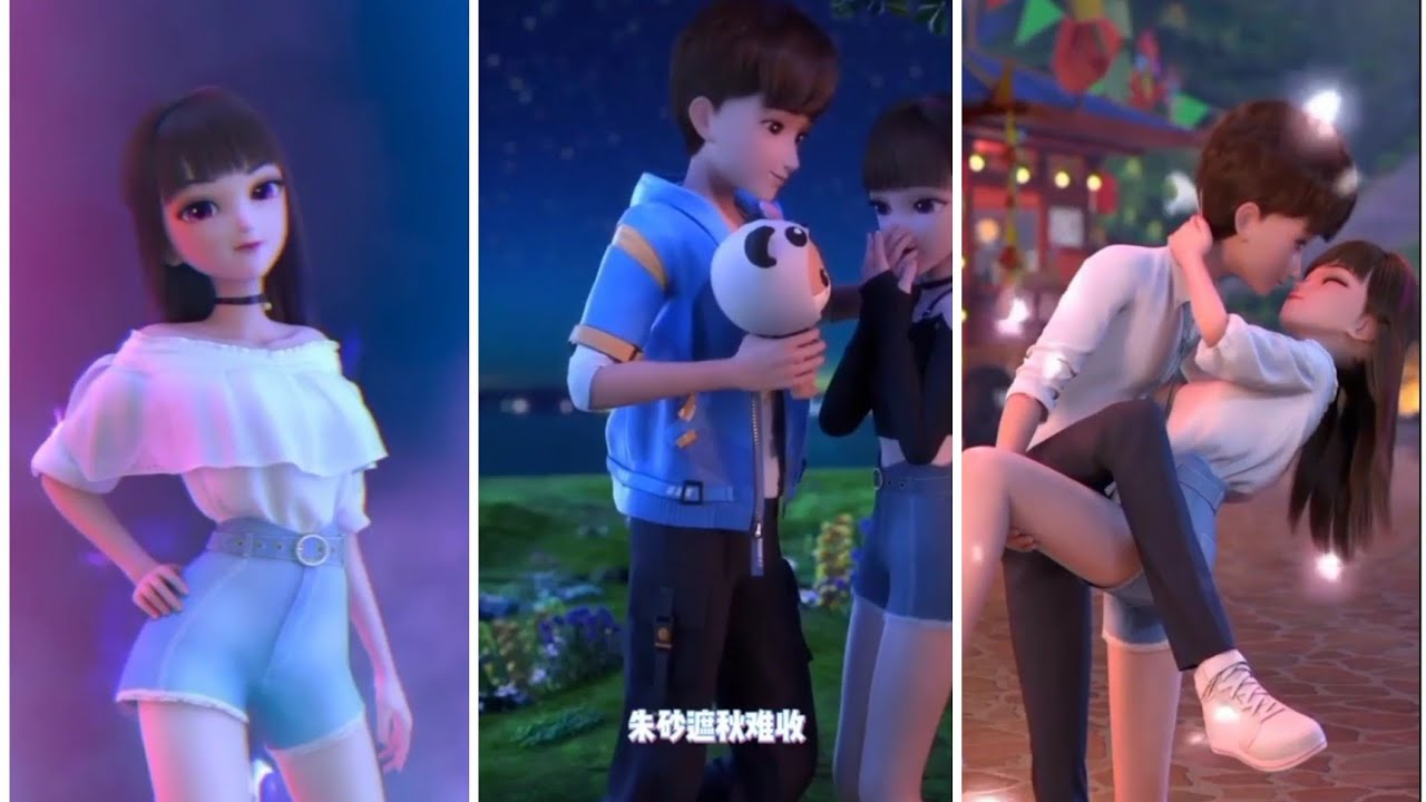 Download Leer and Guoguo cute love videos Part 01 #Hotreels lovely video bf gf ...