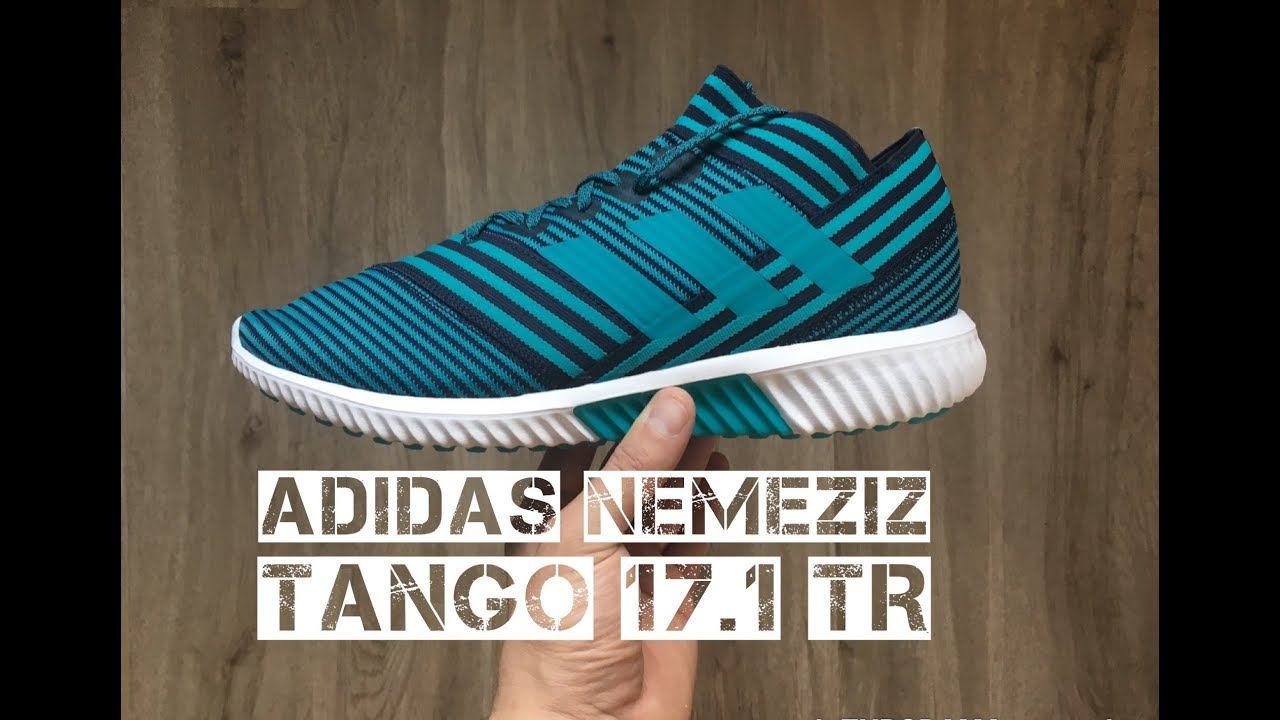Dedicar Mediante No lo hagas  Adidas Nemeziz Tango 17.1 TR 'Ocean Storm Pack' | UNBOXING & ON FEET |  football boots | 2017 | HD - YouTube