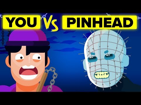 YOU vs PINHEAD - How You Can Defeat and Survive Him (Hellraiser Movie)