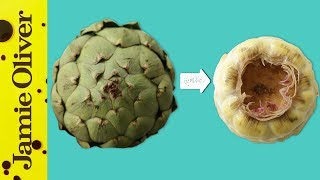 How To Peel, Cut & Prepare An Artichoke | 1 Minute Tips | French Guy Cooking