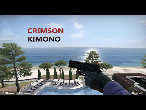 cs go p250 crimson kimono gameplay youtube. Black Bedroom Furniture Sets. Home Design Ideas