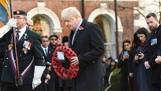 UK falls silent to mark Armistice Day 2019