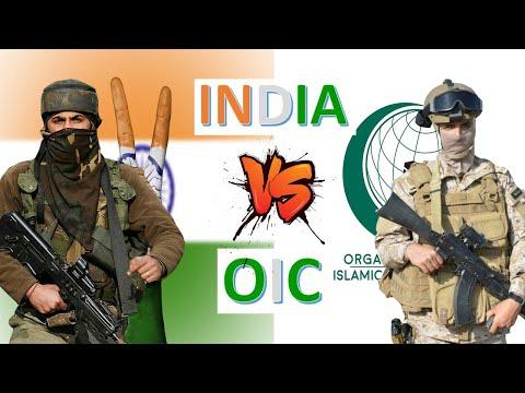 India Vs OIC Military Power \u0026 Economic Comparison 2020