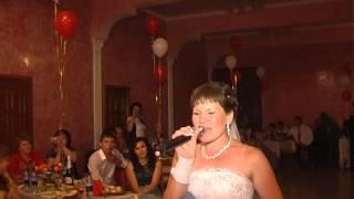 прикол невеста поет песню маме зал плакал (татарская)
