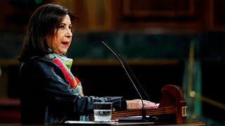 Margarita Robles abronca a los autores del manifiesto militar: