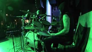 Archgoat - VnoM Drum cam - live 10/18/2015