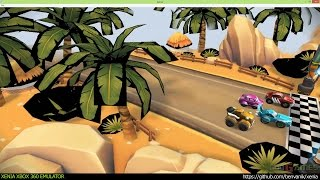 Xenia Xbox 360 Emulator - TNT Racers Ingame!