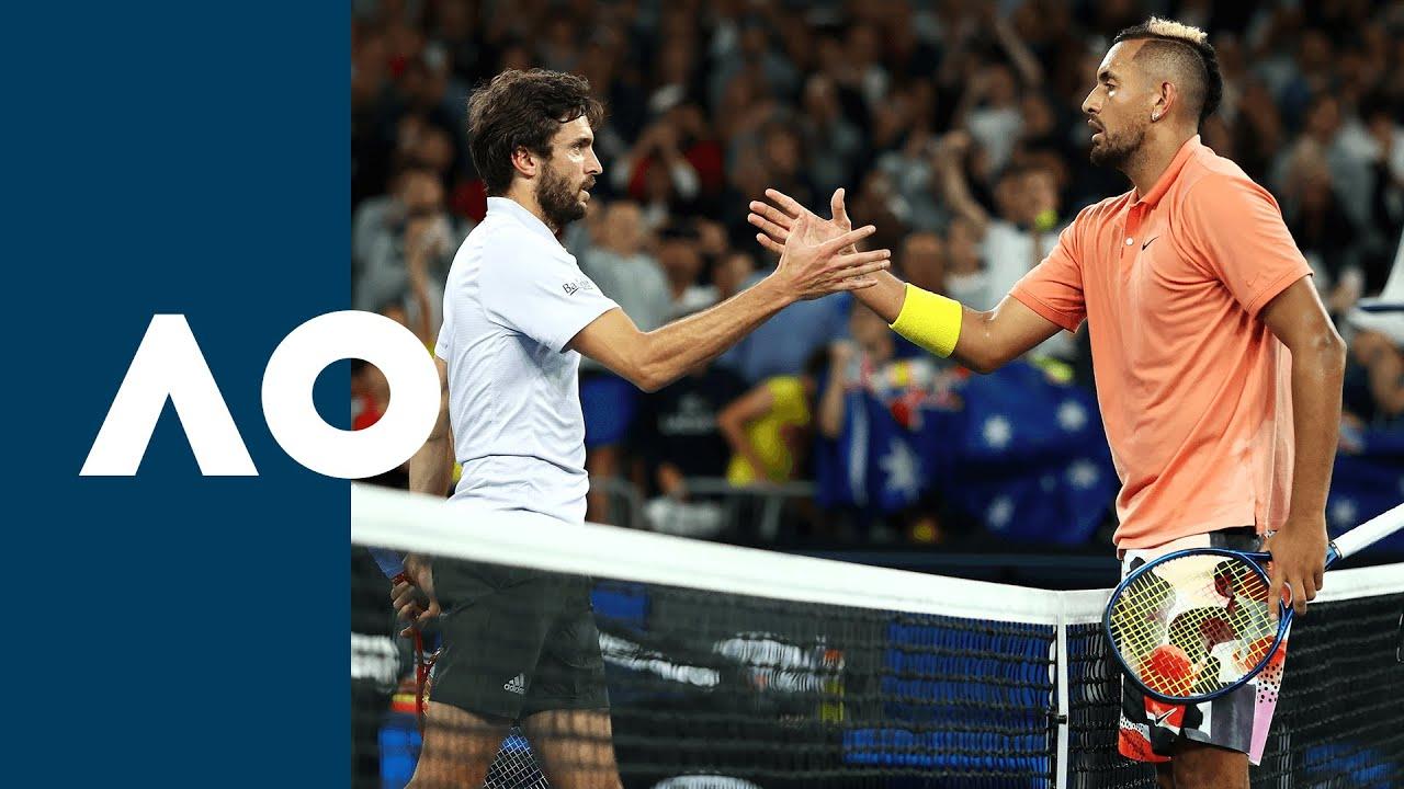 Nick Kyrgios vs Gilles Simon - Extended Highlights (R2)   Australian Open 2020