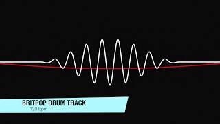 Britpop Drum Track (120 bpm)