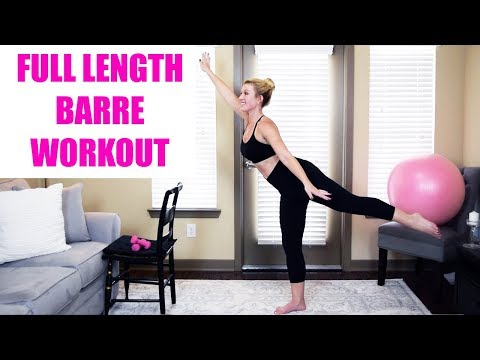 FULL LENGTH: Barre Fitness Workout Class