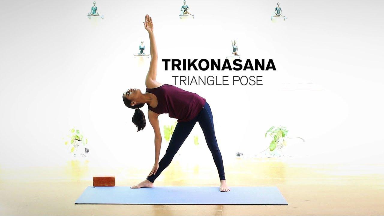 Triangle Pose Art Of Living