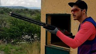 ¿Como practicar sporting clays,  fosa, skeet? con 1 maquina 🤯 escopeta shotgun