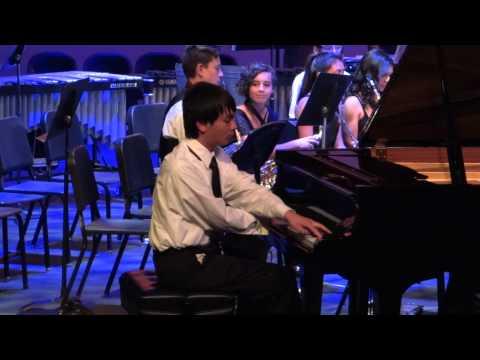 Terra Nova H.S. Symphonic Band & Michael Lee:  Celebre Tarentelle, May 20, 2015