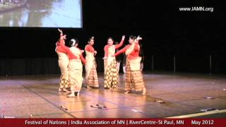Festival of Nations-Dance-2012-4 [India Association of MN]