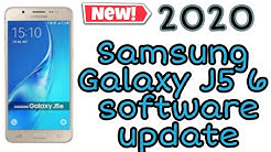 Check your Samsung galaxy J5 6 New march 2020 new software update