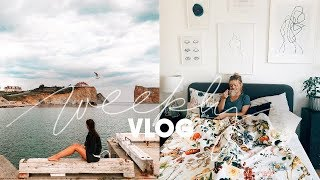 INTERIOR UPDATE & MAKEUP ROUTINE | Consider Cologne Weekly Vlog