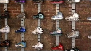 Sneaker Pawn shop in Harlem, NYC