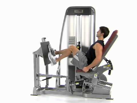 Alternating Leg Press - Cybex Eagle Leg Press