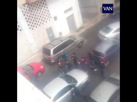 Vídeo de la detención de Ana Julia la pareja del padre de Gabriel Cruz
